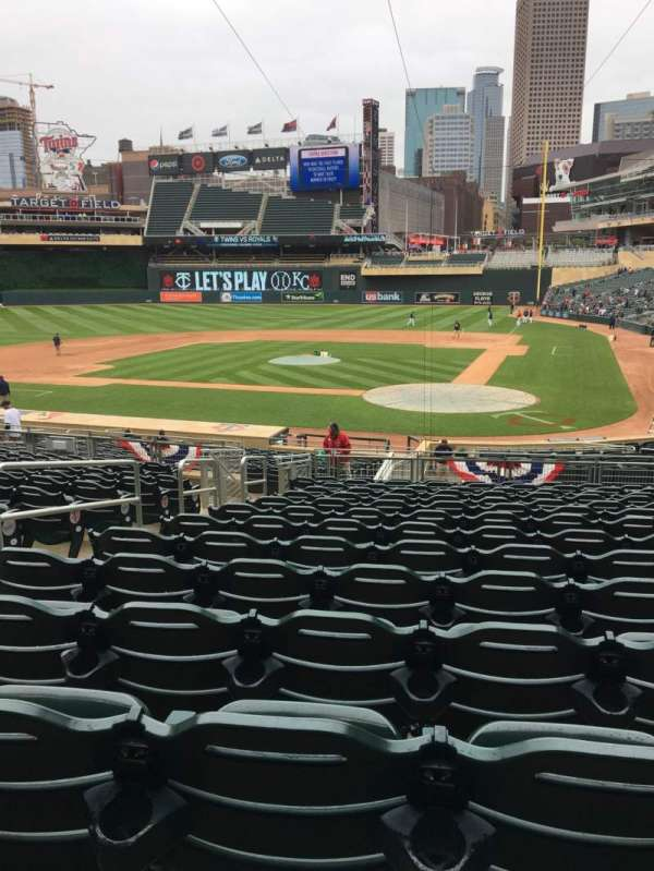 Target Field, section: 117, row: 14, seat: 12