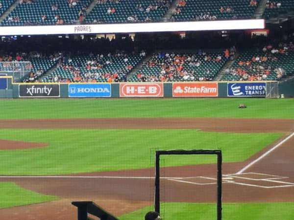 Minute Maid Park, section: 116, row: 19, seat: 20