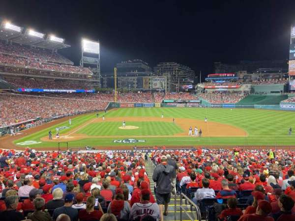 Nationals Park, section: 128, row: UU, seat: 2