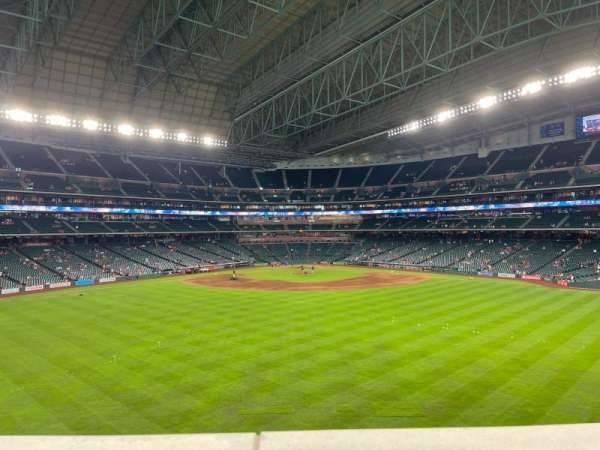 Minute Maid Park, section: Batters Eye Box, row: 1, seat: 7