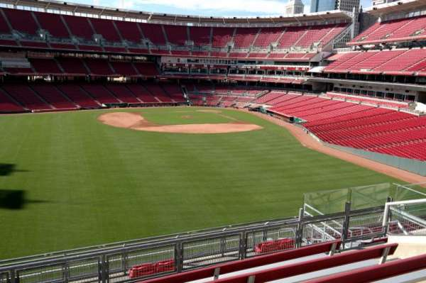 Great American Ball Park, section: 402, row: k, seat: 8