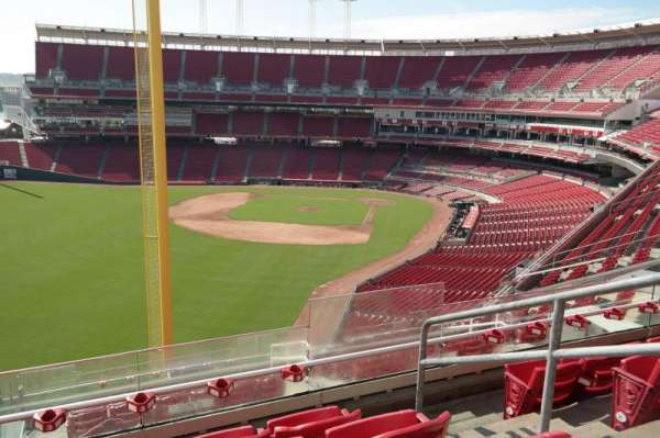 Great American Ball Park, section: 408, row: N, seat: 2