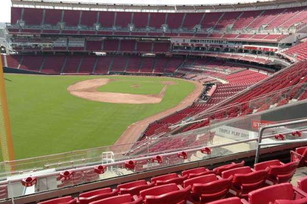 Great American Ball Park, section: 409, row: N, seat: 6