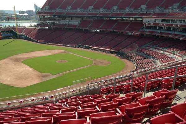 Great American Ball Park, section: 415, row: I, seat: 7