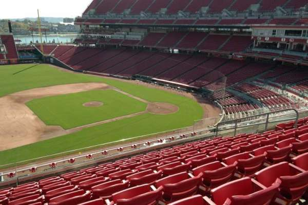 Great American Ball Park, section: 416, row: i, seat: 12
