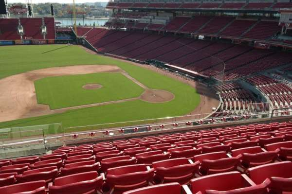 Great American Ball Park, section: 417, row: I, seat: 13