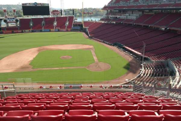 Great American Ball Park, section: 419, row: H, seat: 6