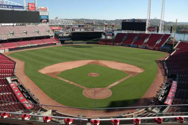 Great American Ball Park, section: 423, row: C, seat: 9