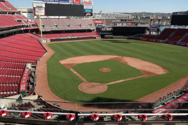 Great American Ball Park, section: 425, row: C, seat: 8