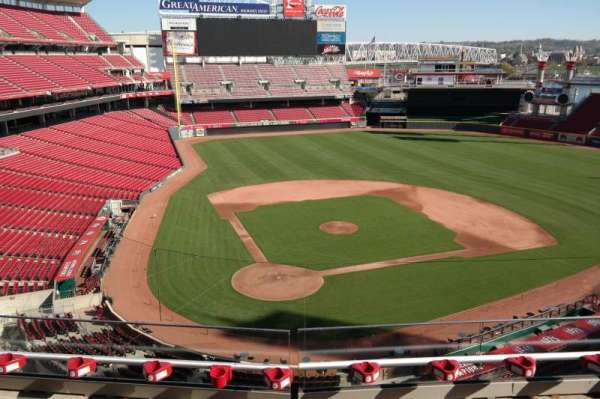 Great American Ball Park, section: 426, row: C, seat: 8