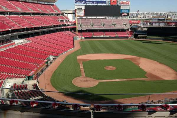 Great American Ball Park, section: 427, row: C, seat: 8