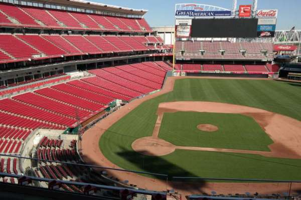 Great American Ball Park, section: 428, row: B, seat: 9