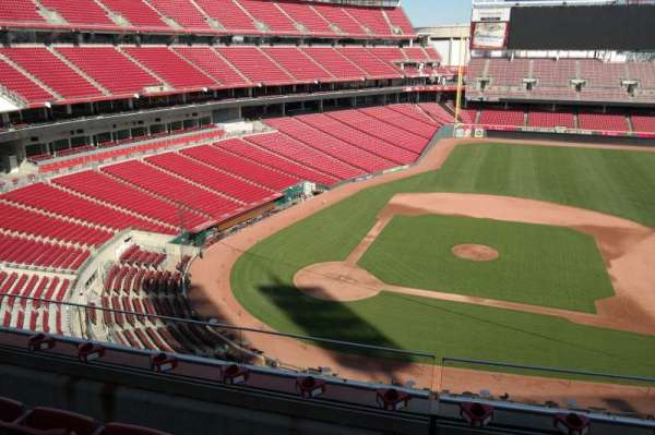 Great American Ball Park, section: 429, row: C, seat: 10