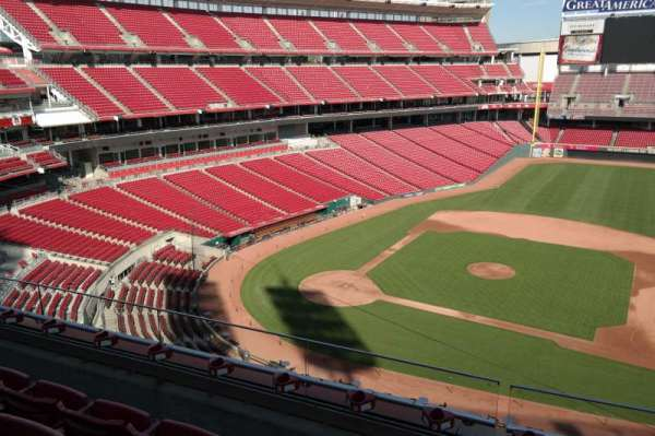 Great American Ball Park, section: 430, row: D, seat: 10