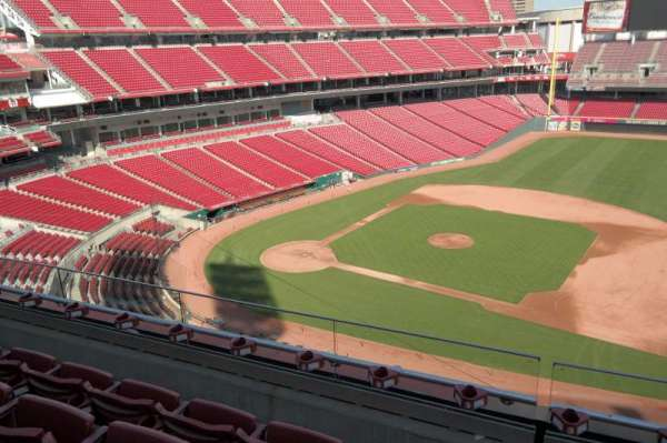 Great American Ball Park, section: 431, row: D, seat: 10