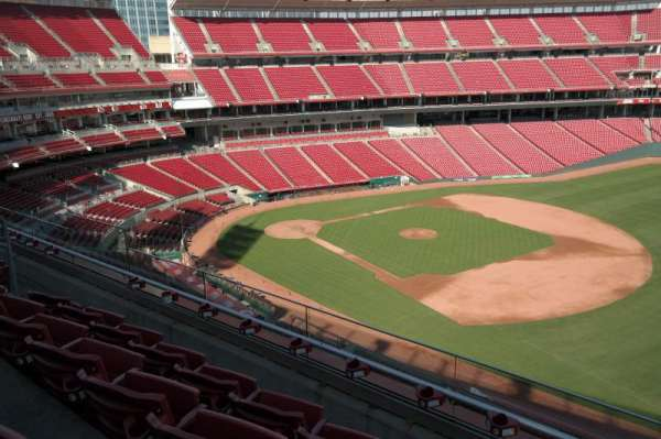 Great American Ball Park, section: 434, row: D, seat: 11