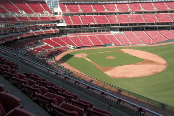 Great American Ball Park, section: 435, row: E, seat: 12