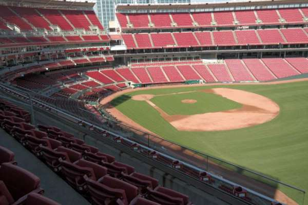 Great American Ball Park, section: 436, row: D, seat: 12
