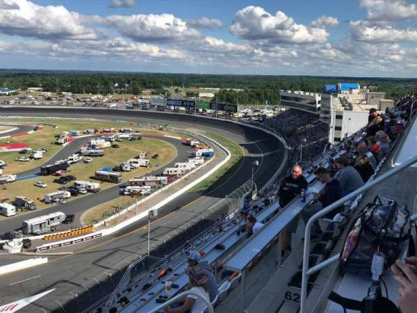 Charlotte Motor Speedway, section: FORD F, row: 64, seat: 6