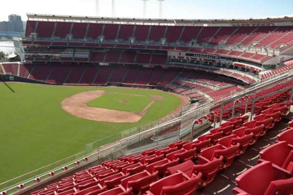 Great American Ball Park, section: 509, row: J, seat: 11