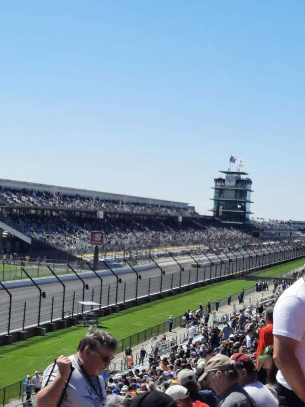 Indianapolis Motor Speedway, section: 6, row: GG, seat: 12