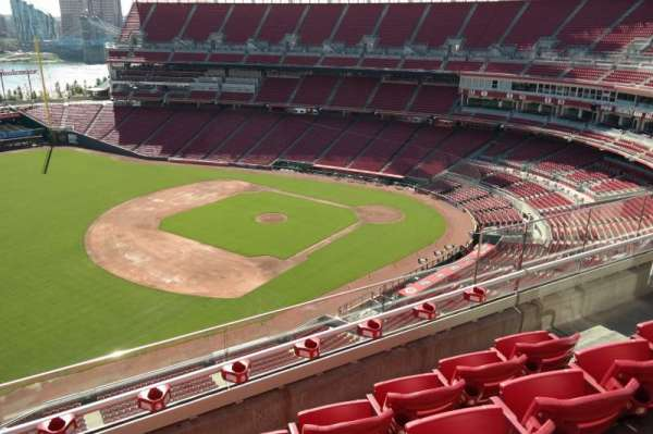 Great American Ball Park, section: 513, row: D, seat: 10