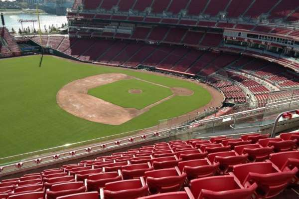 Great American Ball Park, section: 513, row: I, seat: 12