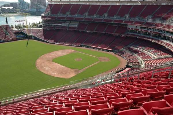Great American Ball Park, section: 513, row: O, seat: 12