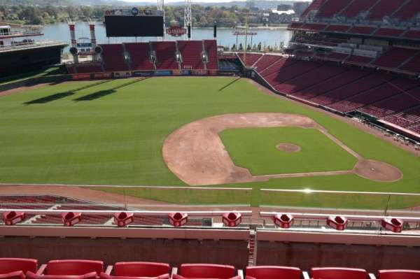 Great American Ball Park, section: 516, row: D, seat: 9