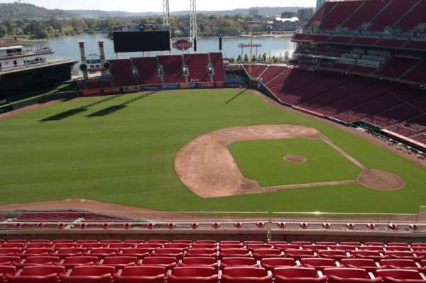 Great American Ball Park, section: 516, row: H, seat: 13