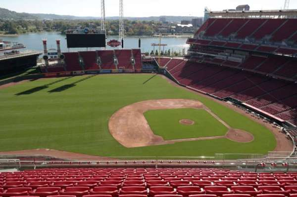 Great American Ball Park, section: 516, row: N, seat: 14