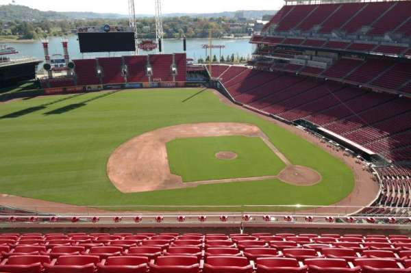 Great American Ball Park, section: 517, row: H, seat: 14