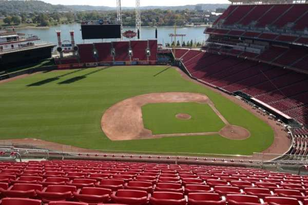 Great American Ball Park, section: 517, row: N, seat: 13