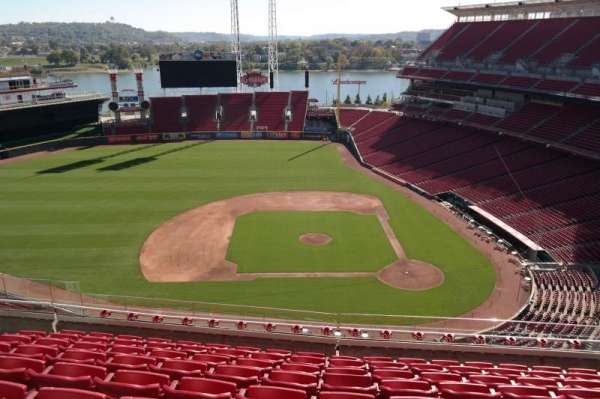 Great American Ball Park, section: 518, row: H, seat: 12