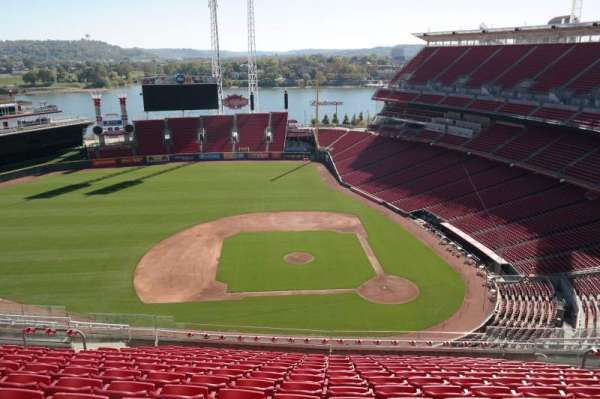 Great American Ball Park, section: 518, row: I, seat: 13