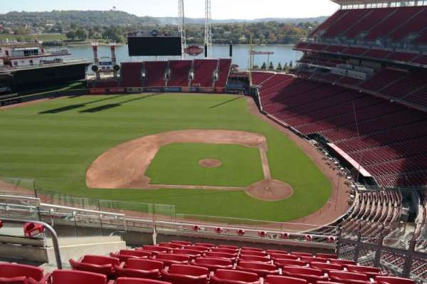 Great American Ball Park, section: 519, row: G, seat: 6