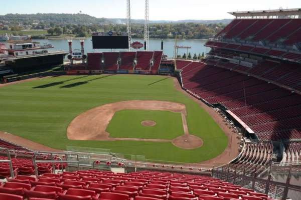 Great American Ball Park, section: 519, row: O, seat: 7