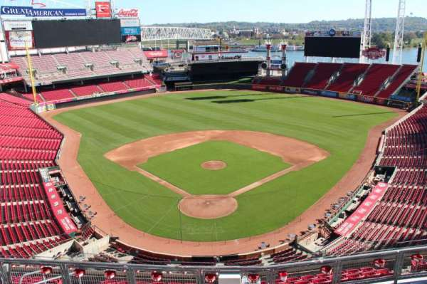 Great American Ball Park, section: 524, row: a, seat: 11