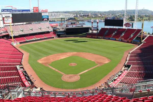 Great American Ball Park, section: 524, row: k, seat: 12