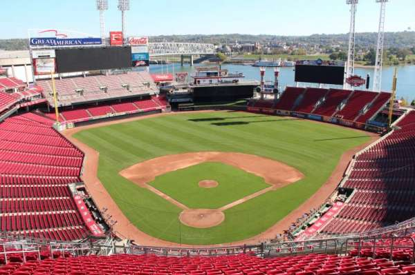 Great American Ball Park, section: 524, row: r, seat: 12