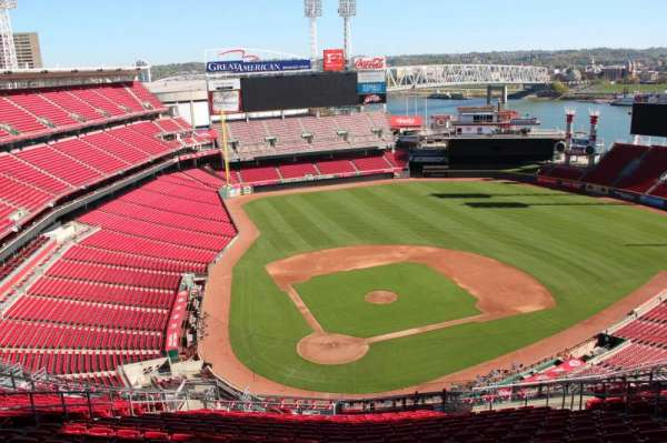 Great American Ball Park, section: 526, row: s, seat: 13
