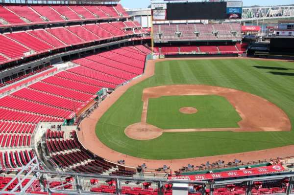 Great American Ball Park, section: 528, row: a, seat: 12