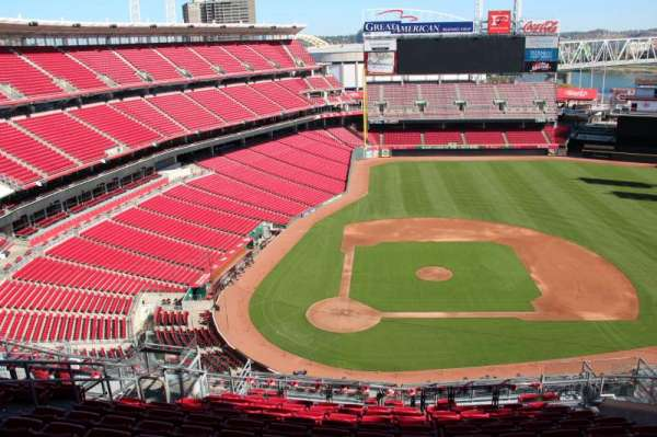 Great American Ball Park, section: 528, row: k, seat: 12