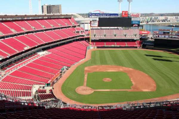 Great American Ball Park, section: 528, row: k, seat: 13