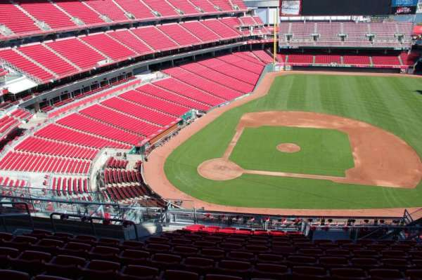 Great American Ball Park, section: 529, row: K, seat: 12
