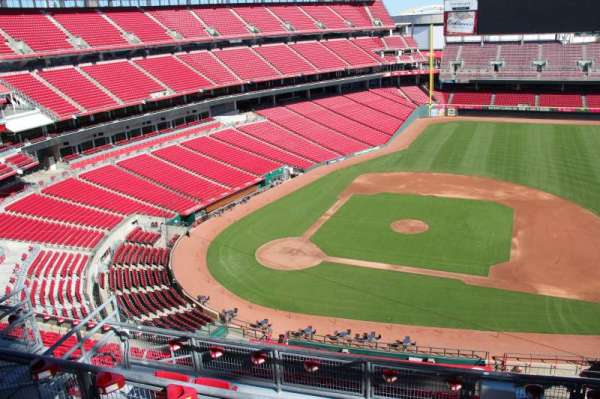 Great American Ball Park, section: 530, row: b, seat: 11