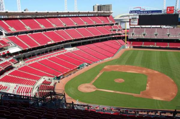 Great American Ball Park, section: 530, row: m, seat: 11