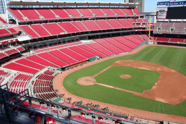 Great American Ball Park, section: 531, row: b, seat: 10