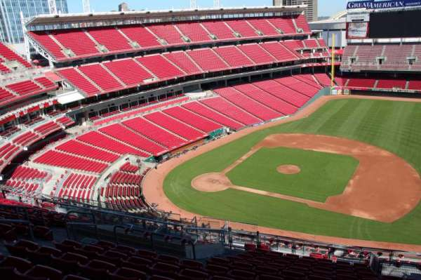 Great American Ball Park, section: 531, row: k, seat: 11
