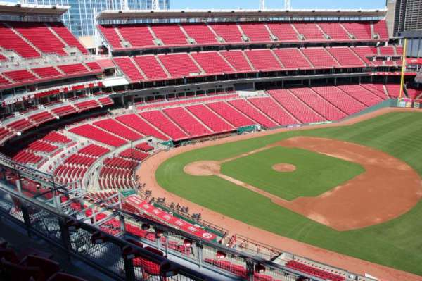 Great American Ball Park, section: 532, row: c, seat: 12
